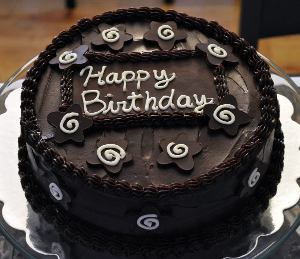 Best ideas about Birthday Cake Pics . Save or Pin Chocolate Happy Birthday Cake and s Now.