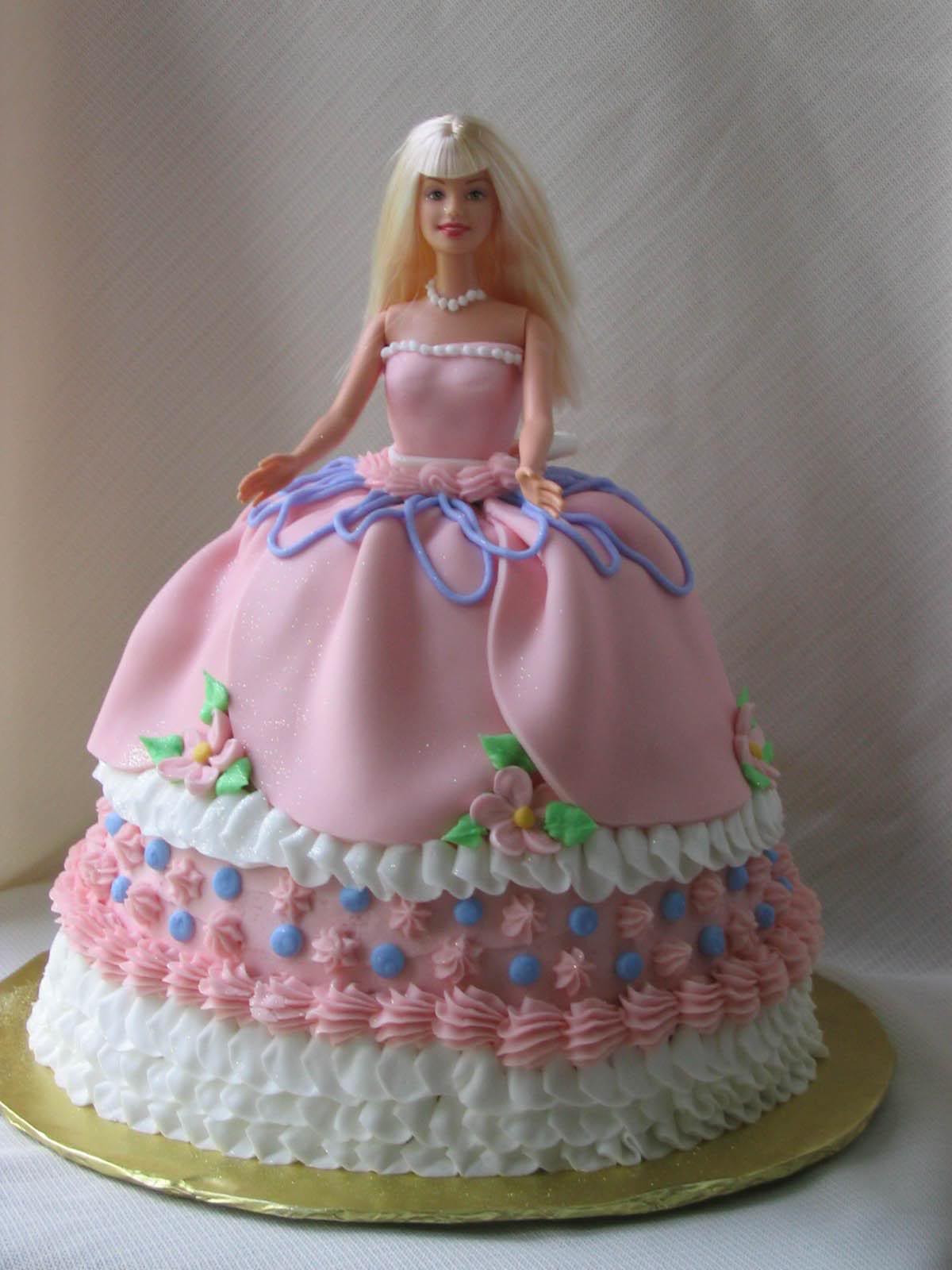 Best ideas about Birthday Cake Pics . Save or Pin Birthday Cake Pink Barbie Birthday Cakes Now.