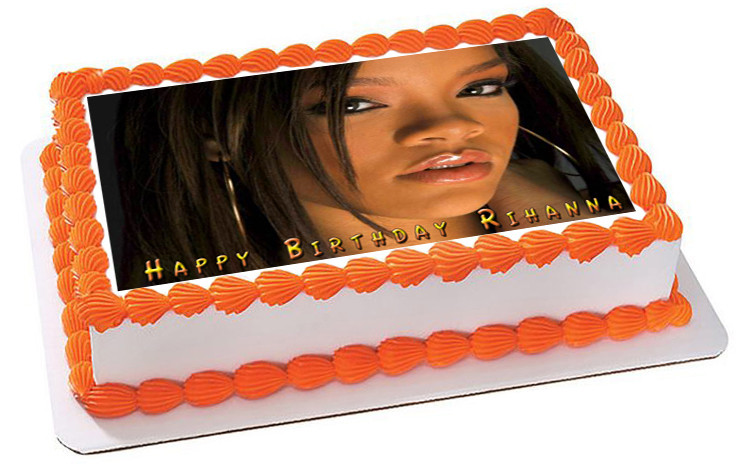 Best ideas about Birthday Cake Rihanna . Save or Pin Rihanna 3 Edible Birthday Cake Topper Now.