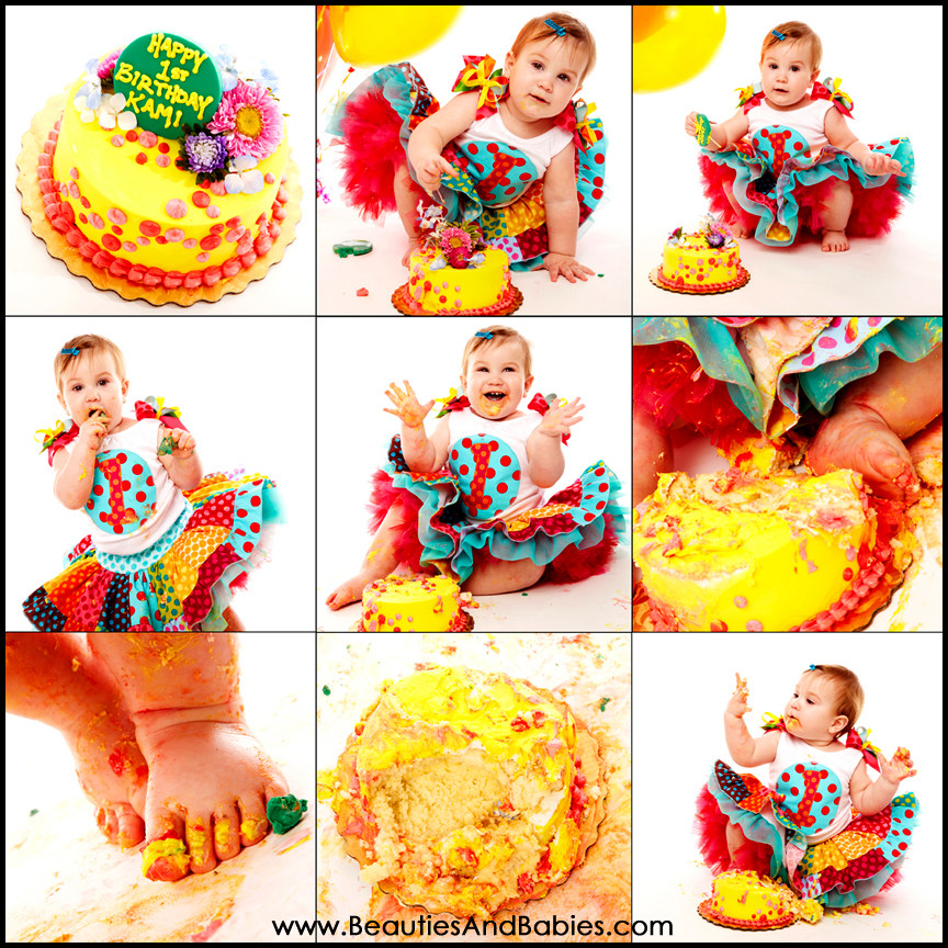 Best ideas about Birthday Cake Smash . Save or Pin baby 1st birthday cake smash photography Los Angeles Now.