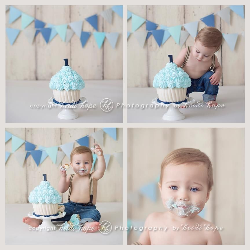 Best ideas about Birthday Cake Smash . Save or Pin Cake Smash double banners graphy Now.