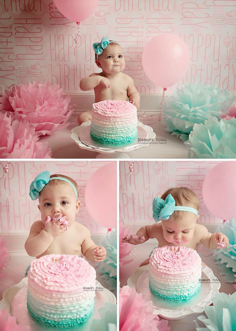 Best ideas about Birthday Cake Smash . Save or Pin 1 year old cake smash session Memori foto Now.