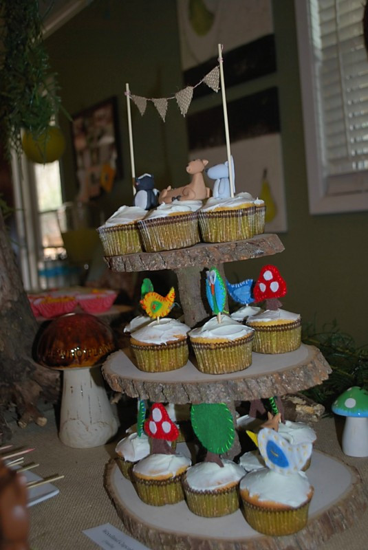 Best ideas about Birthday Cake Toppers Michaels . Save or Pin The Making Tom's Woodland Themed 1st Birthday Party Now.