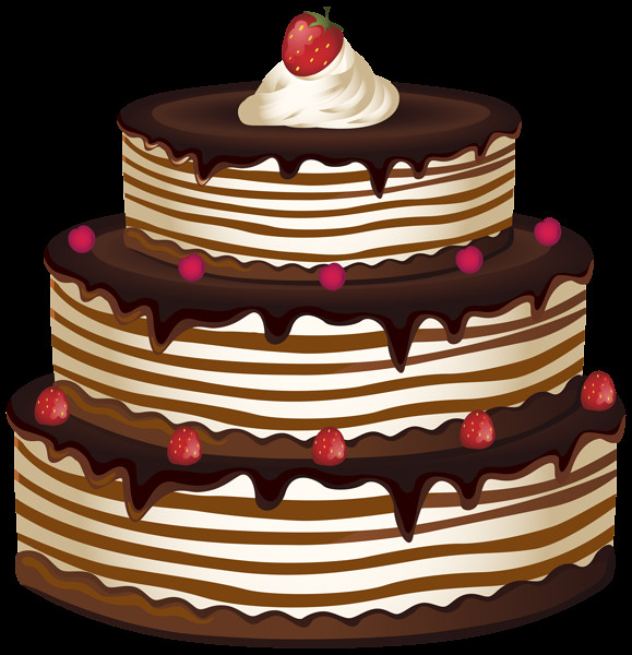Best ideas about Birthday Cake Transparent . Save or Pin Cake PNG Transparent Clip Art Image Now.