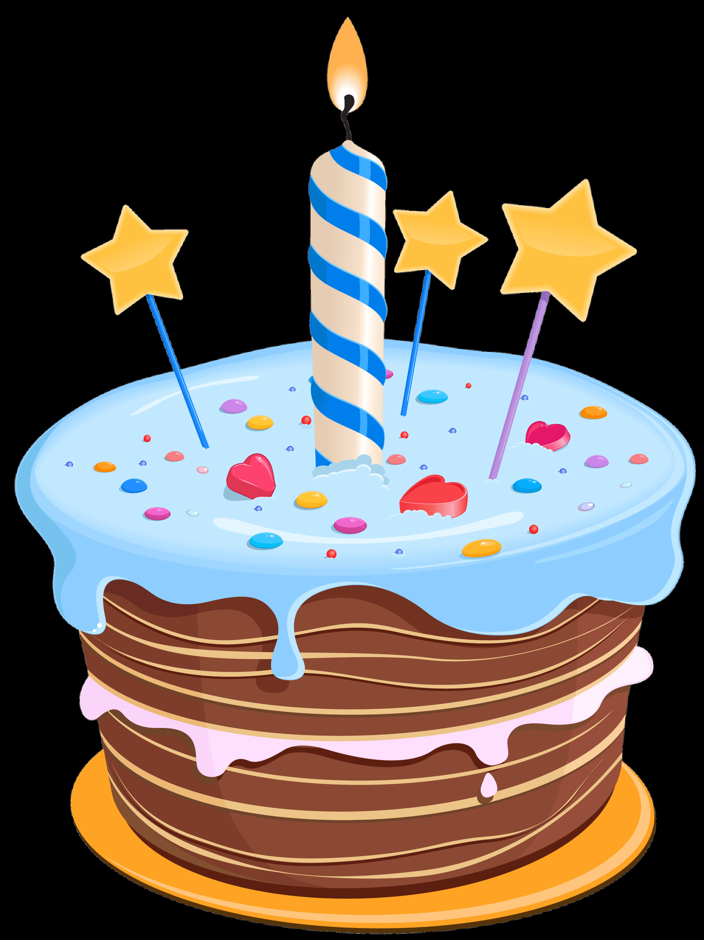 Best ideas about Birthday Cake Transparent . Save or Pin Birthday Cake Drawing Blue transparent PNG StickPNG Now.