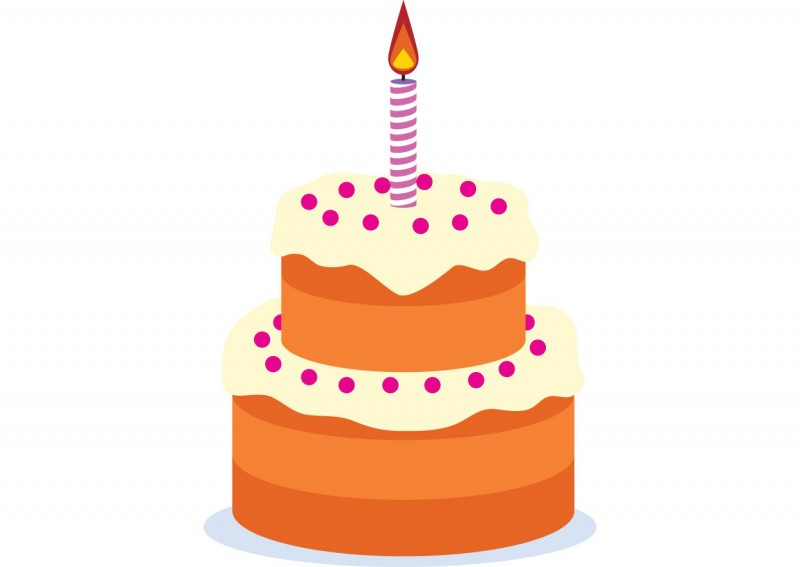 Best ideas about Birthday Cake Vector . Save or Pin Birthday cake free vector drawing Now.