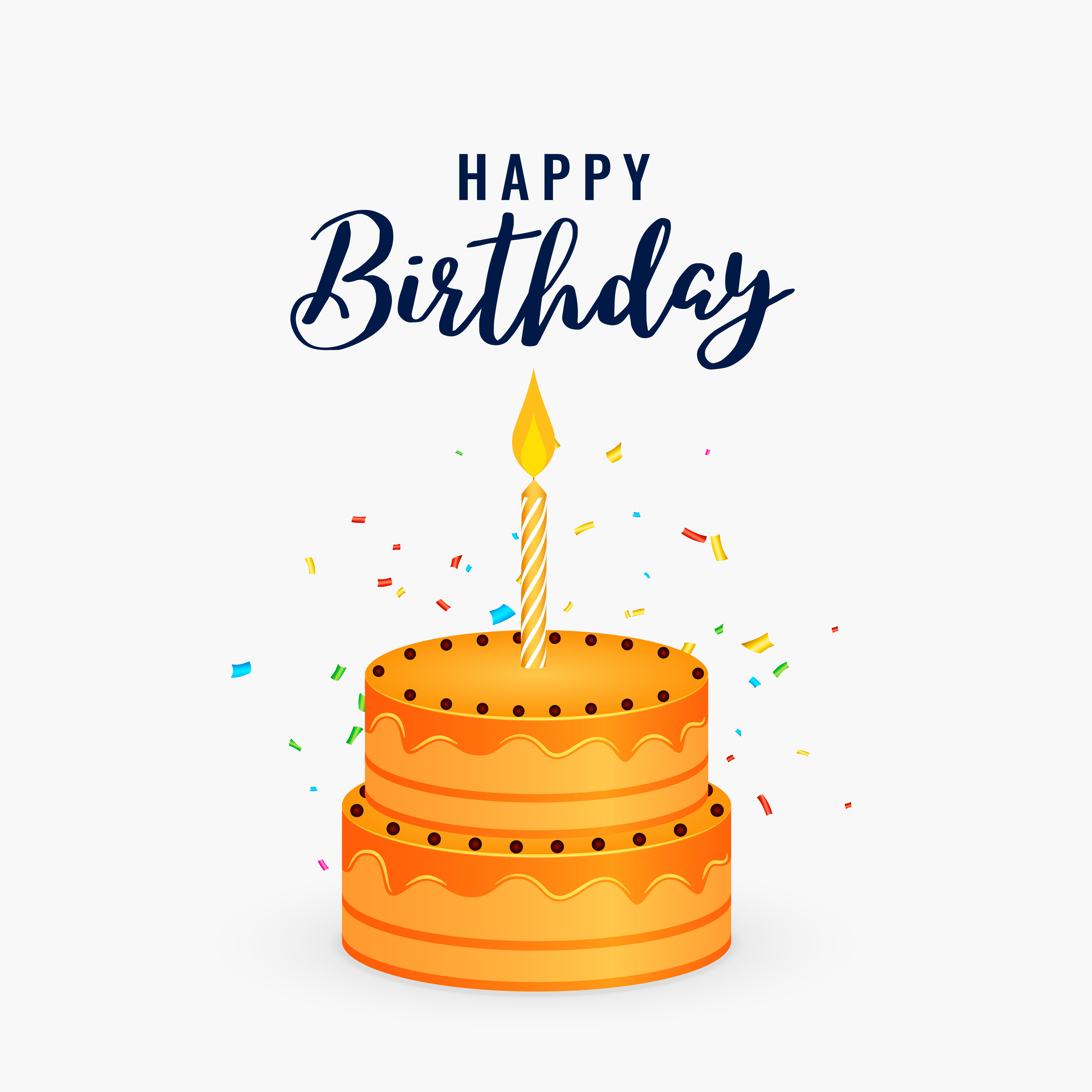 Best ideas about Birthday Cake Vector . Save or Pin Free Vector Birthday Background Free Downloads Now.