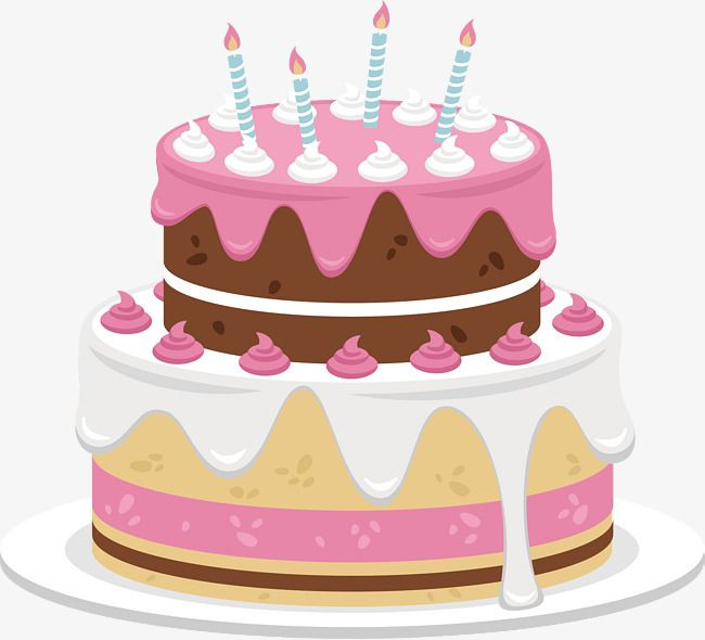 Best ideas about Birthday Cake Vector . Save or Pin Sweet Pink Cake Cake Clipart Vector Cute Cake PNG Now.