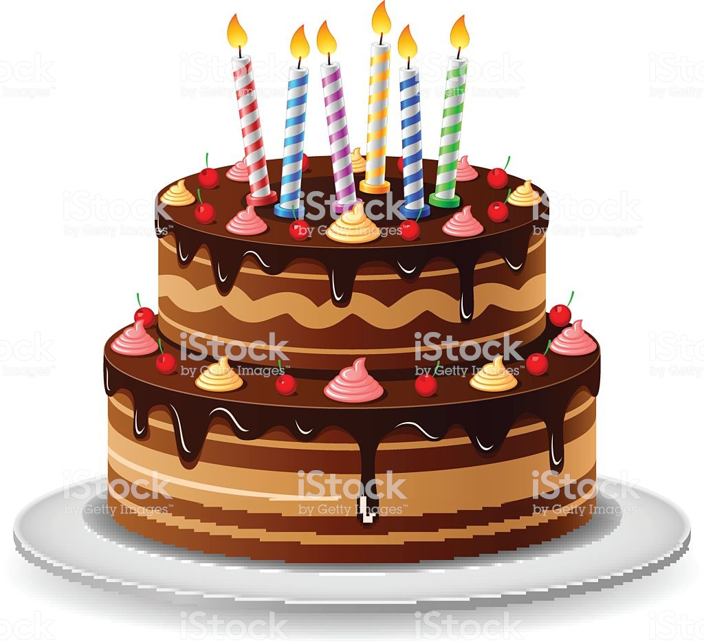 Best ideas about Birthday Cake Vector . Save or Pin Birthday Cake Stock Vector Art & More of Now.