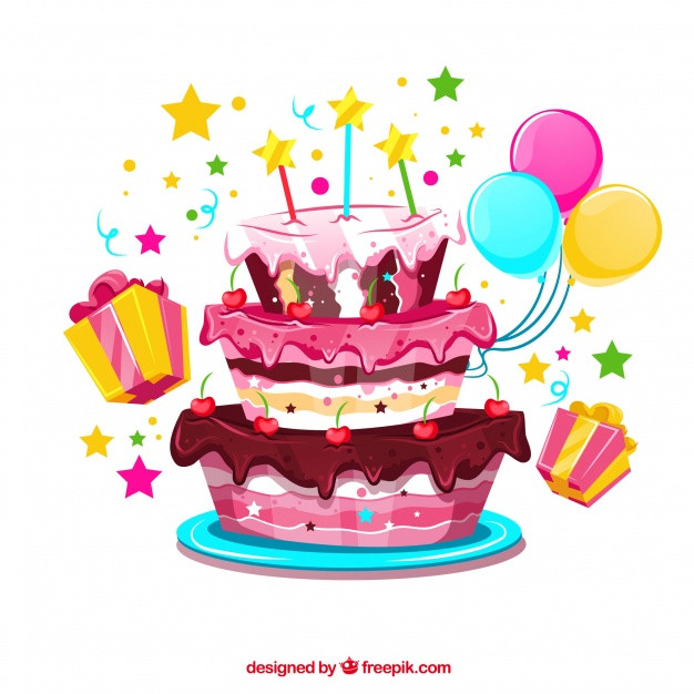 Best ideas about Birthday Cake Vector . Save or Pin Birthday Cake Vectors s and PSD files Now.