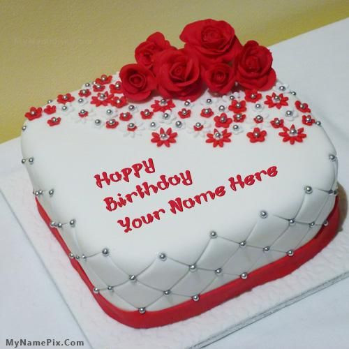 Best ideas about Birthday Cake With Name . Save or Pin Write your name on cakes Here you can write names on Now.