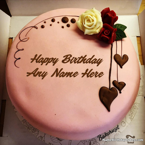 Best ideas about Birthday Cake With Names . Save or Pin Write Name Birthday Cakes Cards Wishes 900 Now.