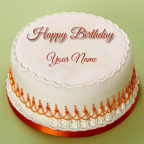 Best ideas about Birthday Cake With Names . Save or Pin Birthday Celebration Real Cake With Your Name Name Now.