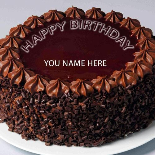 Best ideas about Birthday Cake With Names . Save or Pin Write Name Happy Birthday cake Goerge Now.