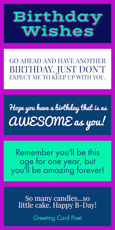 Best ideas about Birthday Card Wishes . Save or Pin Birthday Wishes Quotes and Messages to Help Celebrate Now.