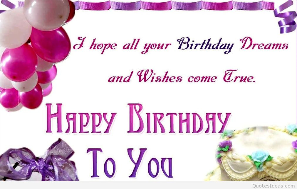 Best ideas about Birthday Card Wishes . Save or Pin Happy birthday quotes images happy birthday wallpapers Now.