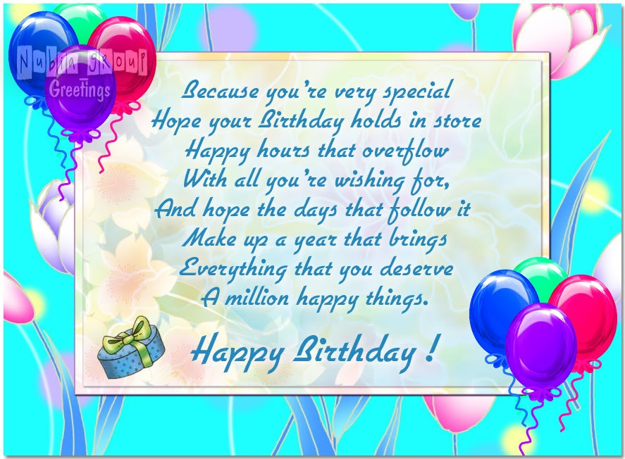 Best ideas about Birthday Card Wishes . Save or Pin Birthday Card Birthday Now.