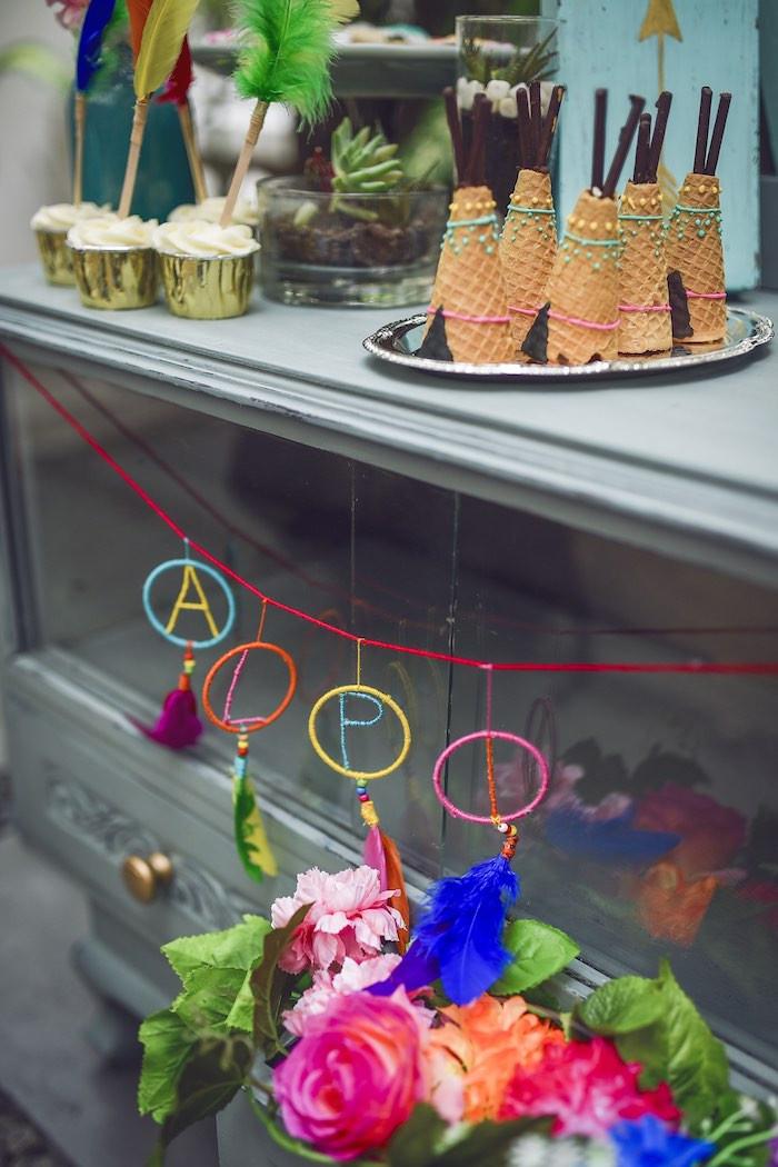 Best ideas about Birthday Celebration Ideas . Save or Pin Kara s Party Ideas Boho Tribal Birthday Party Now.