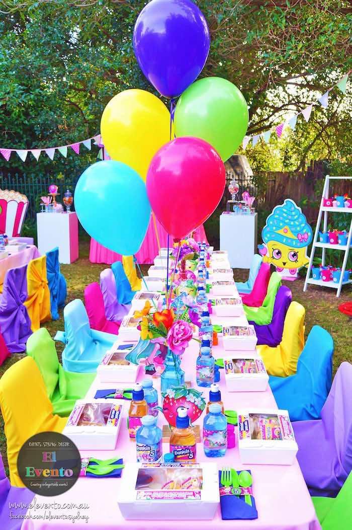 Best ideas about Birthday Celebration Ideas . Save or Pin Kara s Party Ideas Trendy Shopkins Birthday Party Now.