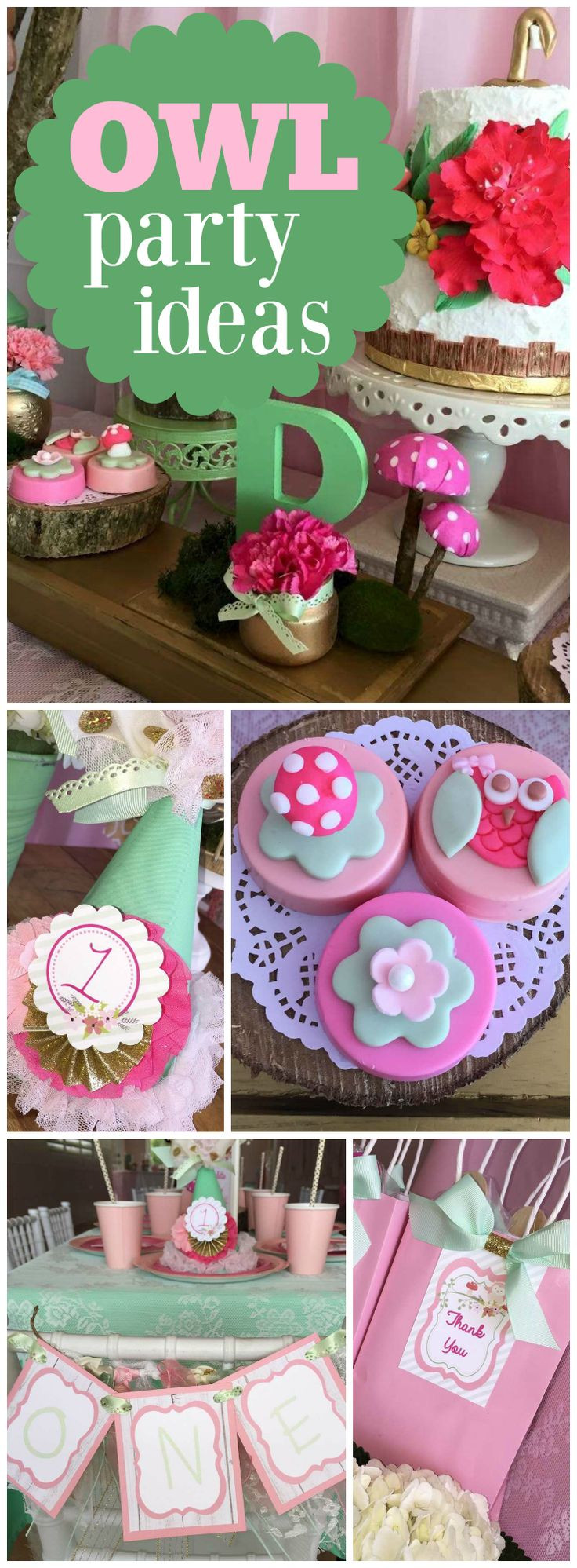 """Best ideas about Birthday Celebration Ideas . Save or Pin Owls Birthday """"Owl 1st Birthday Party"""" Now."""