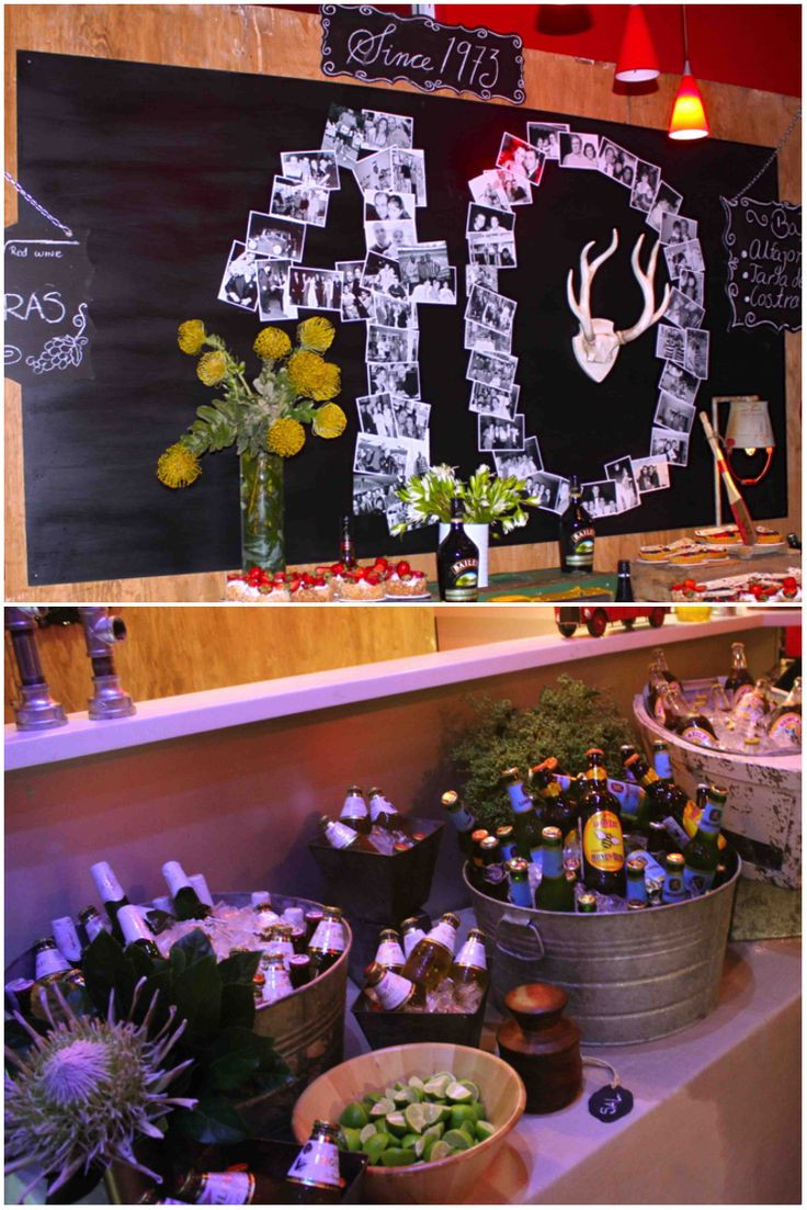 Best ideas about Birthday Celebration Ideas . Save or Pin 40 years party celebration for men beerparty Now.