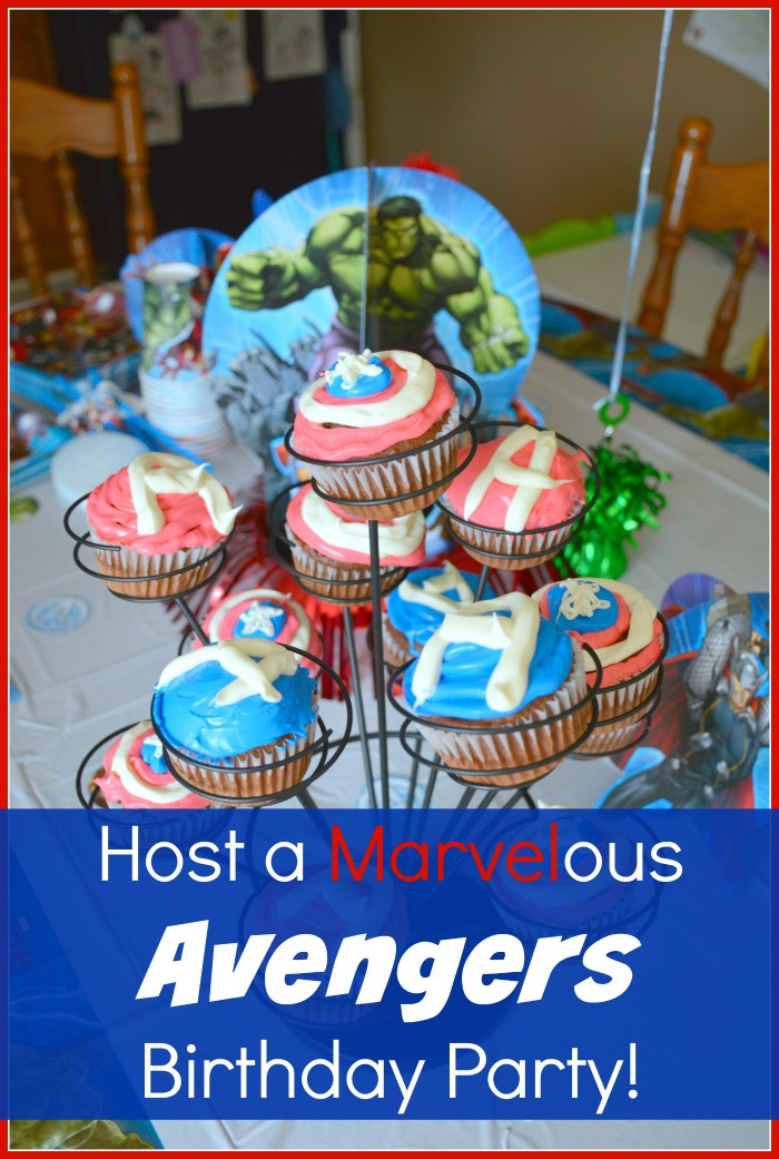 Best ideas about Birthday Celebration Ideas . Save or Pin An Avengers Birthday Party Thrifty Nifty Mommy Now.
