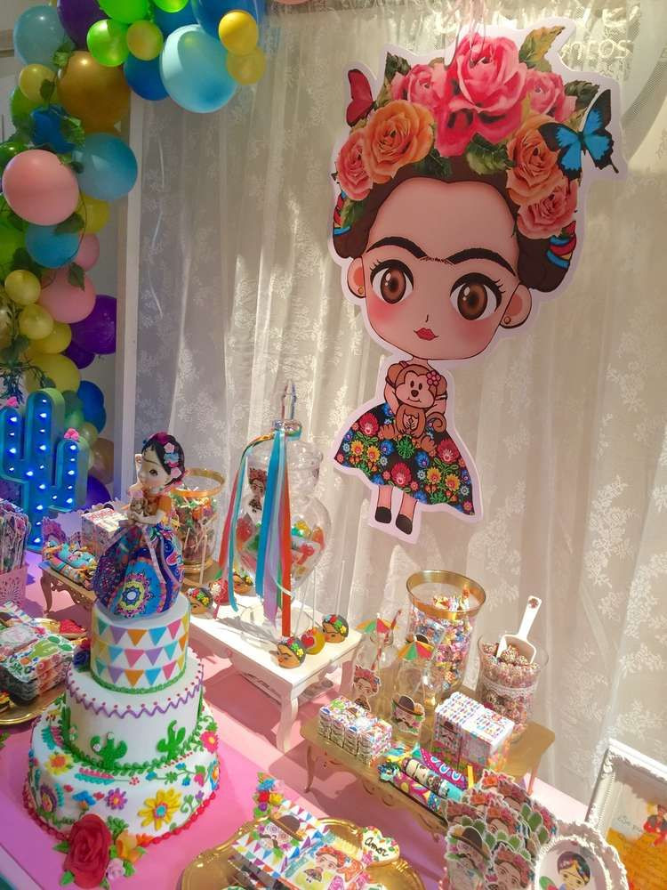 Best ideas about Birthday Celebration Ideas . Save or Pin Frida Kahlo mexican party Birthday Party Ideas in 2019 Now.