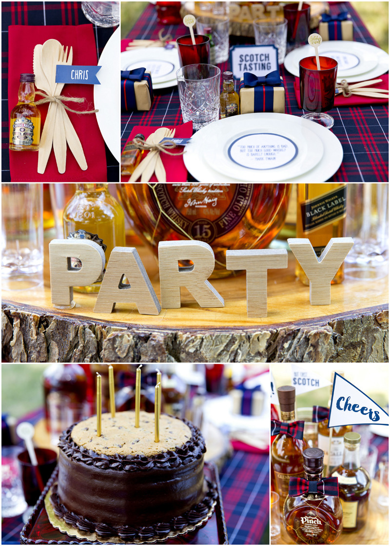 Best ideas about Birthday Decorations . Save or Pin A Dapper Scotch Themed Birthday Party Now.
