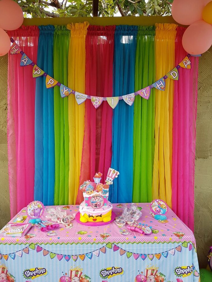 Best ideas about Birthday Decorations . Save or Pin Pin by Rose Wines Arellano on Shopkins party ideas Now.