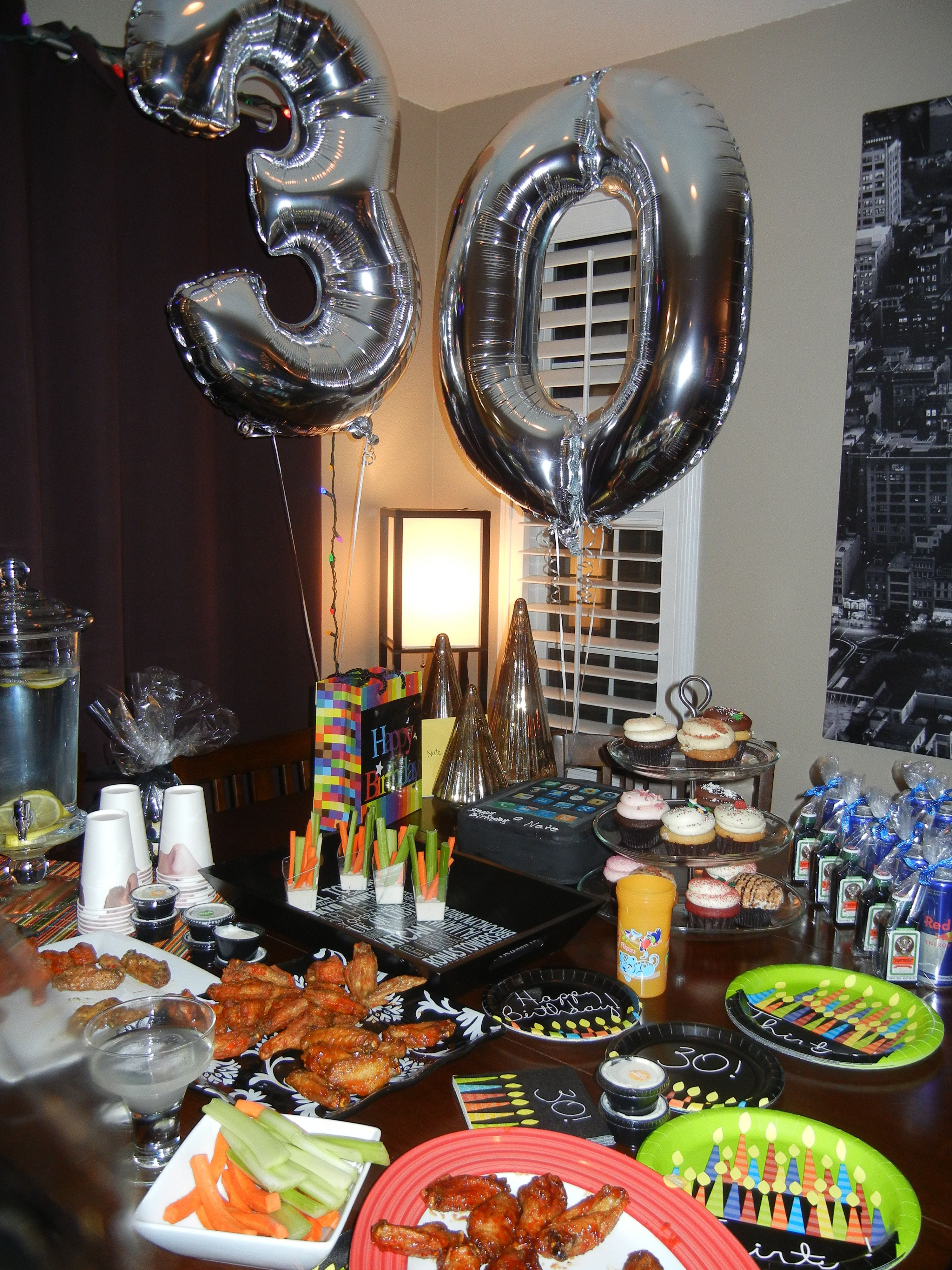 Best ideas about Birthday Decorations For Him . Save or Pin Husband s 30th birthday My stuff Now.
