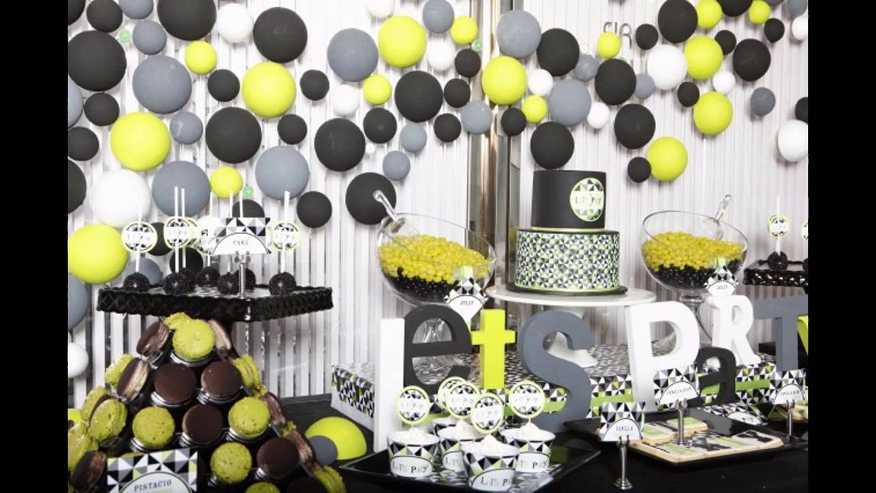 Best ideas about Birthday Decorations For Him . Save or Pin Birthday ideas for husband Now.