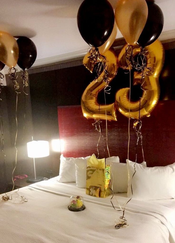 Best ideas about Birthday Decorations For Him . Save or Pin Birthday Surprise For Him His Birthday Now.