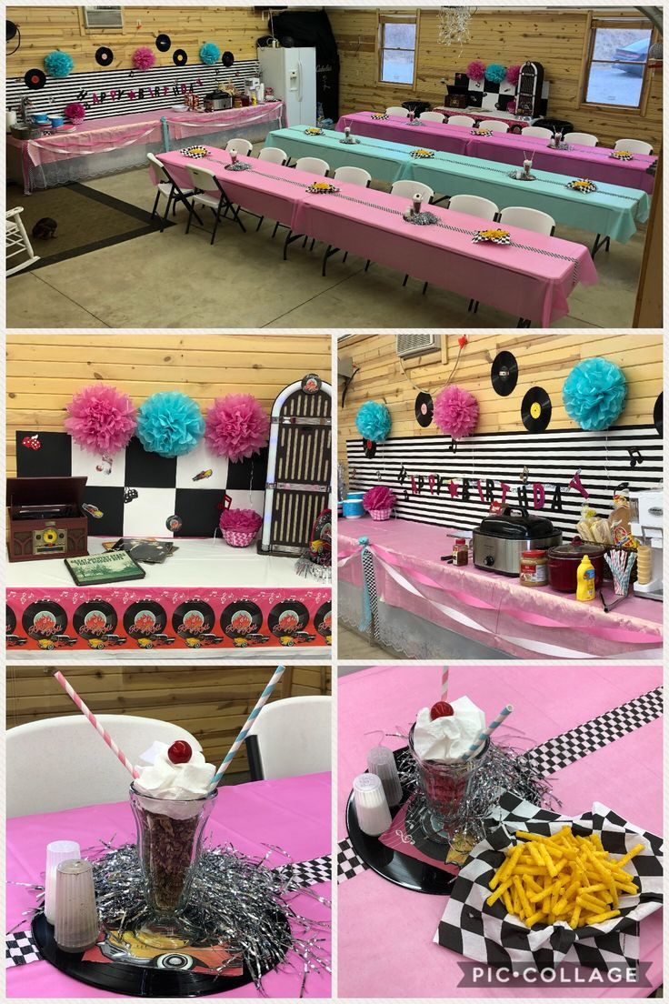 Best ideas about Birthday Decorations . Save or Pin 50's themed birthday party ideas Now.