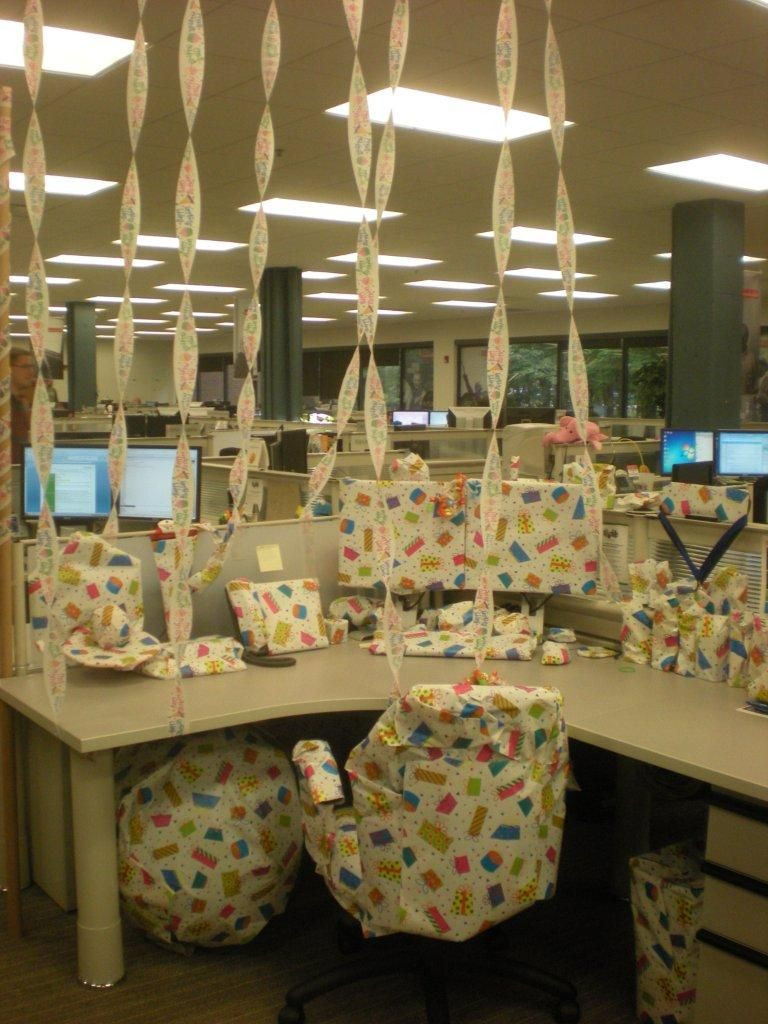 Best ideas about Birthday Desk Decorations . Save or Pin office birthday WORK Now.