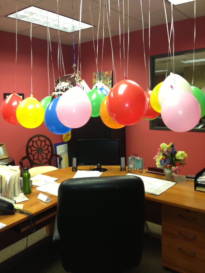 Best ideas about Birthday Desk Decorations . Save or Pin fice Desk Birthday Decoration Ideas Now.