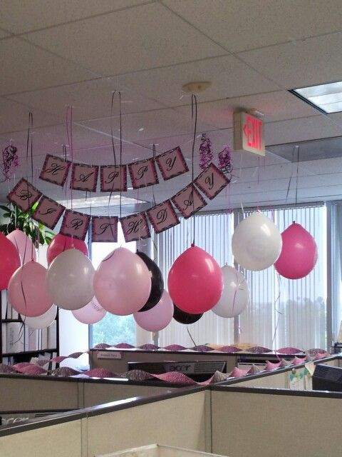 Best ideas about Birthday Desk Decorations . Save or Pin My birthday at work Wedding & Events Now.