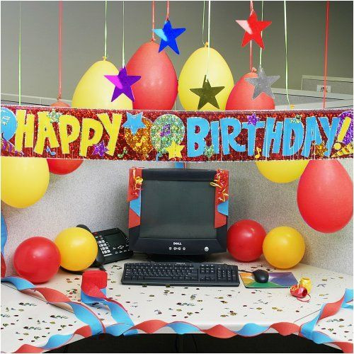 Best ideas about Birthday Desk Decorations . Save or Pin 25 best ideas about Cubicle Birthday Decorations on Now.