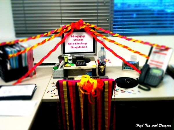 Best ideas about Birthday Desk Decorations . Save or Pin Best 25 fice birthday decorations ideas on Pinterest Now.