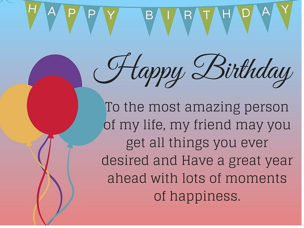 Best ideas about Birthday Friend Quotes . Save or Pin 50 Happy birthday quotes for friends with posters Now.