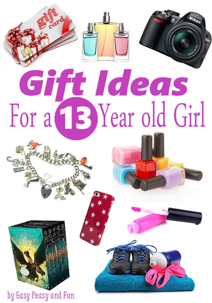 Best ideas about Birthday Gift Ideas For 13 Yr Old Girl . Save or Pin Best Gifts for a 13 Year Old Girl Easy Peasy and Fun Now.
