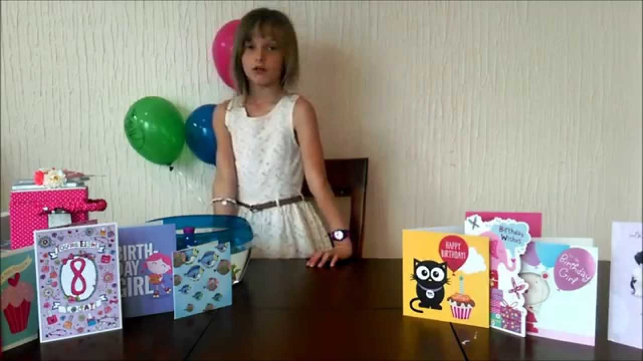 Best ideas about Birthday Gift Ideas For 8 Year Old Girl . Save or Pin Birthday Haul Birthday Presents for an 8 year old girl Now.