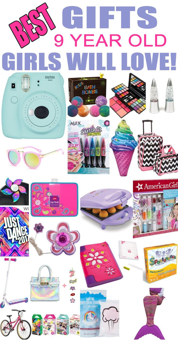 Best ideas about Birthday Gift Ideas For 8 Year Old Girl . Save or Pin Best Gifts 9 Year Old Girls Will Love Now.
