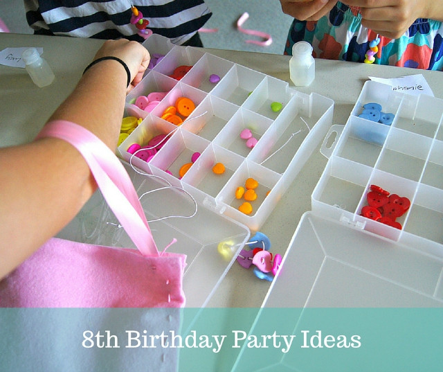 Best ideas about Birthday Gift Ideas For 8 Year Old Girl . Save or Pin 8th Birthday Party Ideas Now.