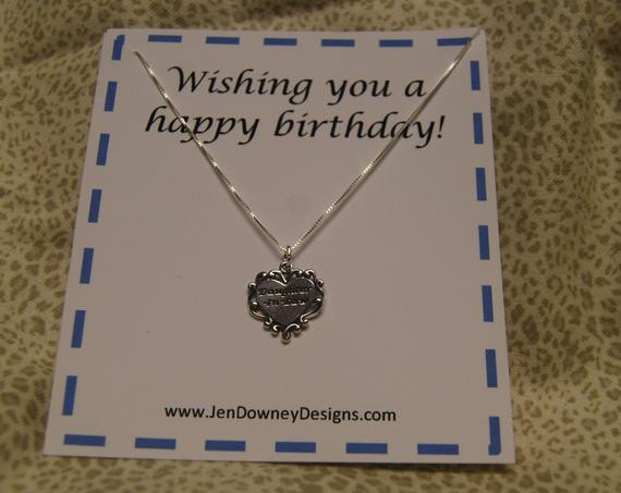 Best ideas about Birthday Gift Ideas For Daughter In Law . Save or Pin Daughter In Law Birthday Gift Necklace by BrilliantKeepsakes Now.