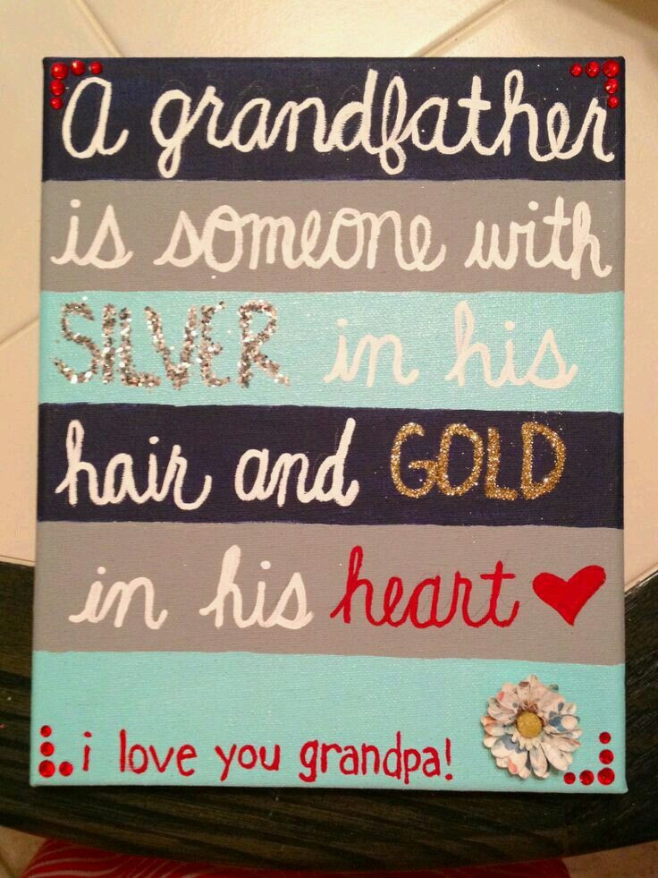 Best ideas about Birthday Gift Ideas For Grandpa . Save or Pin 25 best ideas about Grandfather Gifts on Pinterest Now.