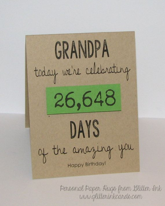 Best ideas about Birthday Gift Ideas For Grandpa . Save or Pin Best 25 Birthday ideas for grandpa ideas on Pinterest Now.