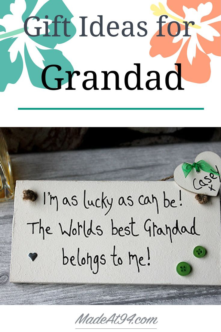 Best ideas about Birthday Gift Ideas For Grandpa . Save or Pin Best 25 Grandpa birthday ts ideas on Pinterest Now.