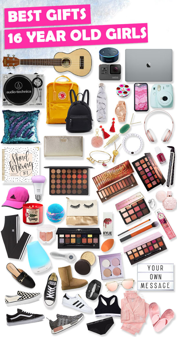 Best ideas about Birthday Gifts For 16 Year Old Girl . Save or Pin Sweet 16 Gift Ideas For 16 Year Old Girls Now.