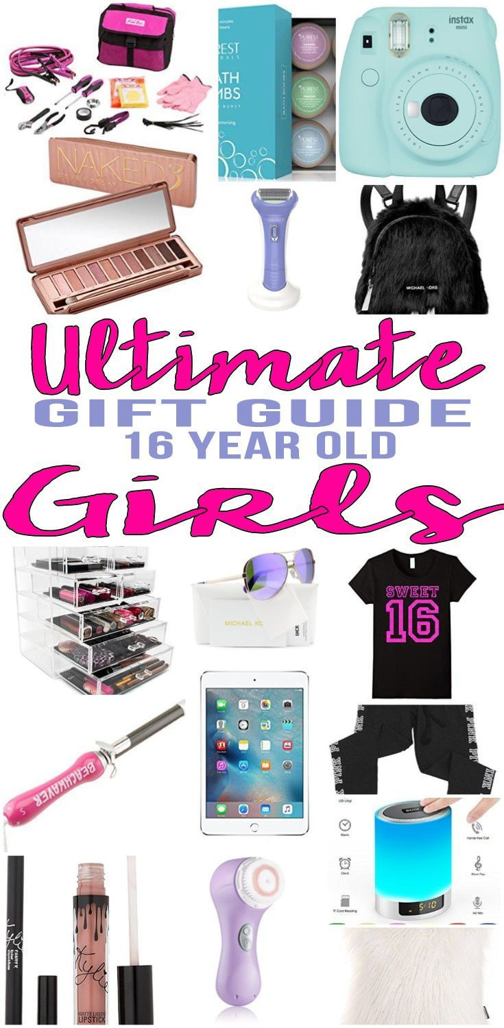 Best ideas about Birthday Gifts For 16 Year Old Girl . Save or Pin Best Gifts 16 Year Old Girls Will Love Gift ideas Now.