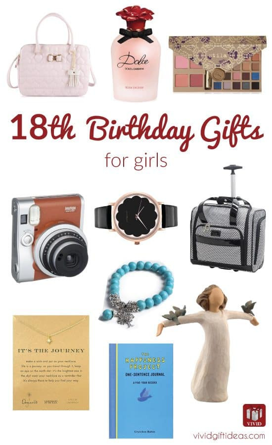 Best ideas about Birthday Gifts For 18 Year Old Female . Save or Pin Best 18th Birthday Gifts for Girls Now.
